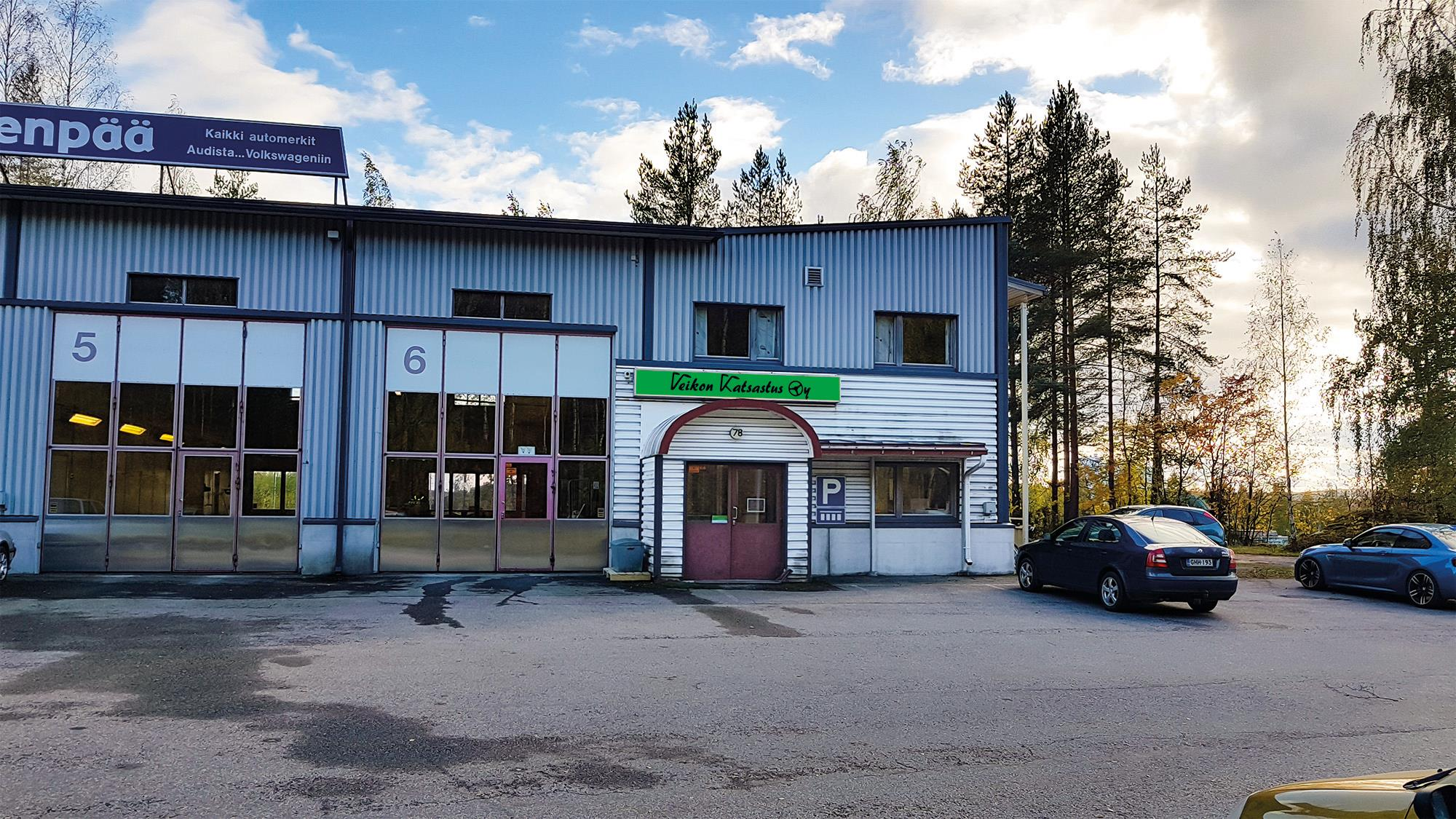 Veikon Katsastus Oy Jyväskylä – Vaajakoskentie