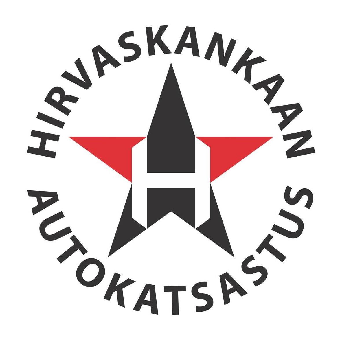 Hirvaskankaan Autokatsastus -logo