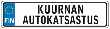 Kuurnan Autokatsastus -logo