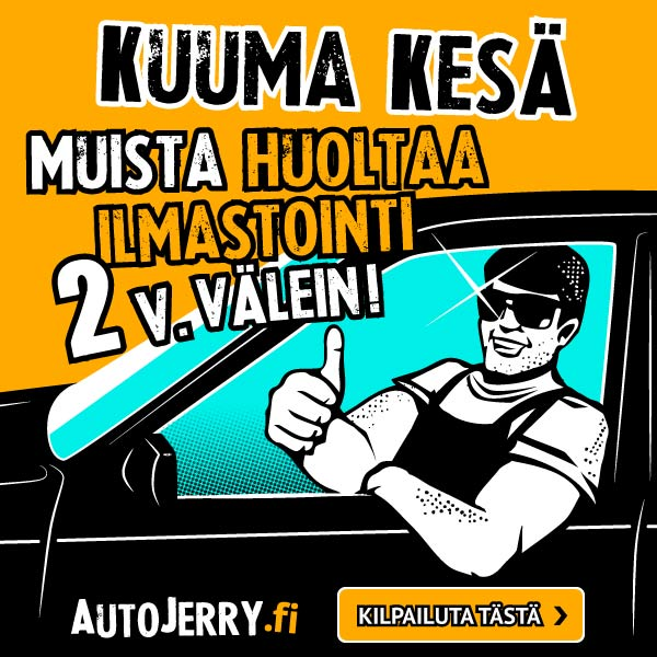 Kuuma kesä. Muista huoltaa ilmastointi 2v. välein! - AutoJerry.fi
