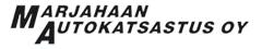 Marjahaan Autokatsastus Oy -logo